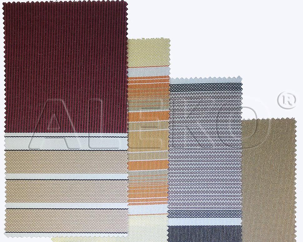Современные ткани для маркиз ALEKO